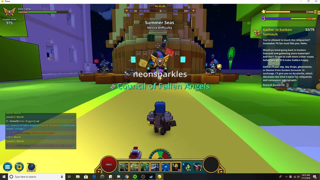 neoneatskfc - Neon ninja farm build - Twitch