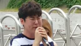 Hyub cried to peepee sad song