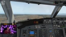 Gute Landung...für 6 Monate Flugpause