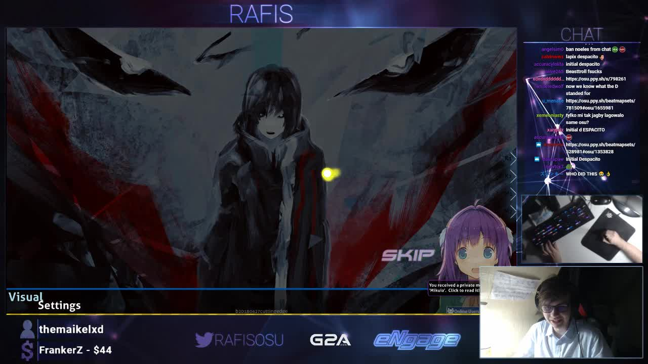 Rafis0 - He just came back - Twitch
