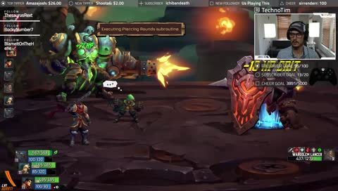 Wargolem Lancer down! #BattleChasers #Nightwar