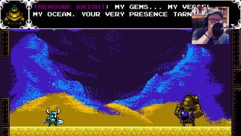 My terrible Shovel Knight VO haha