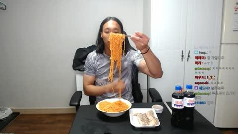 고득한 미식가) 비빔면편 (feat.수육)