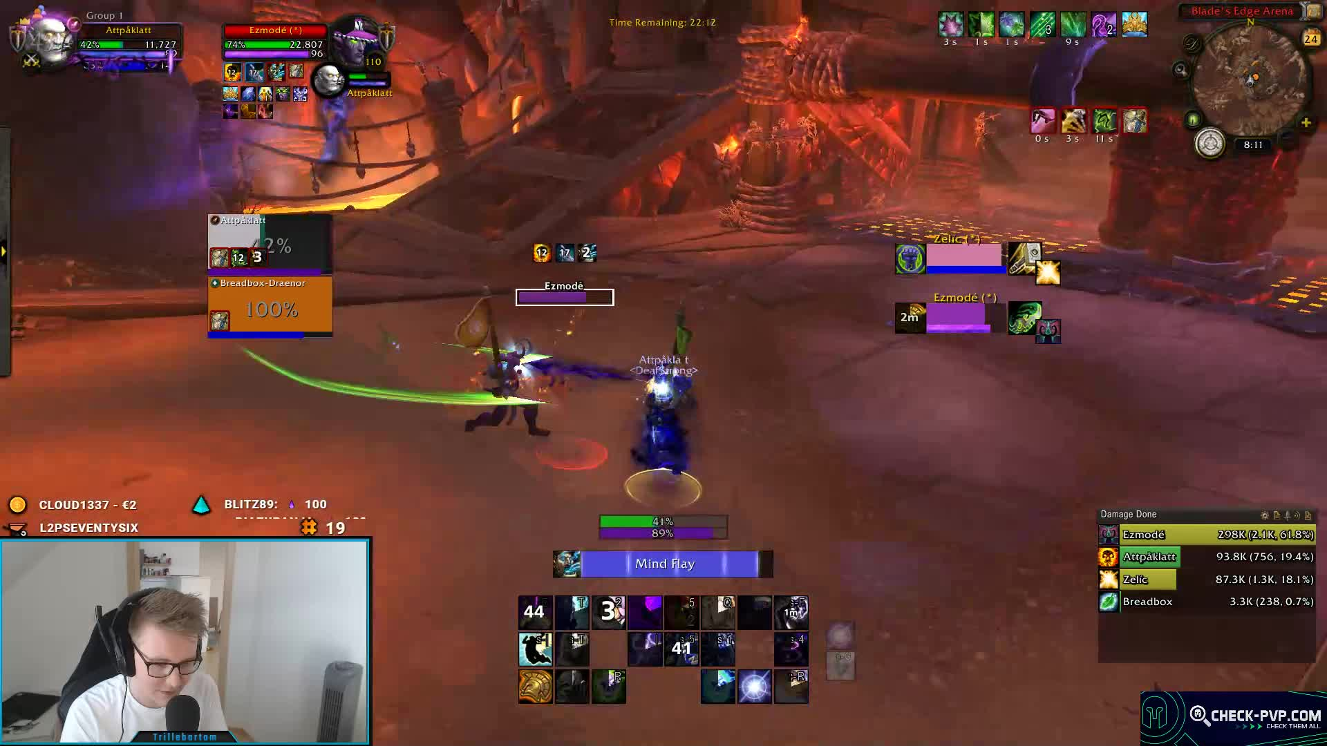 TRILLEBARTOM - Personal resource display addon? - Twitch