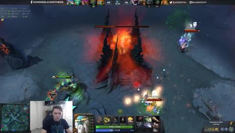 Black becomes Ursa after beating Ursa and winning against Megas