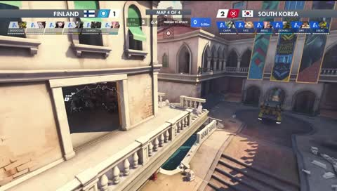 Overwatch World Cup Game Ends All Of a Sudden