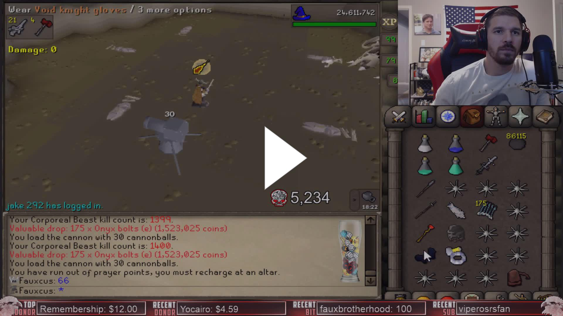 Faux - Why Faux prefers OSBuddy over RuneLite for Corp - Twitch