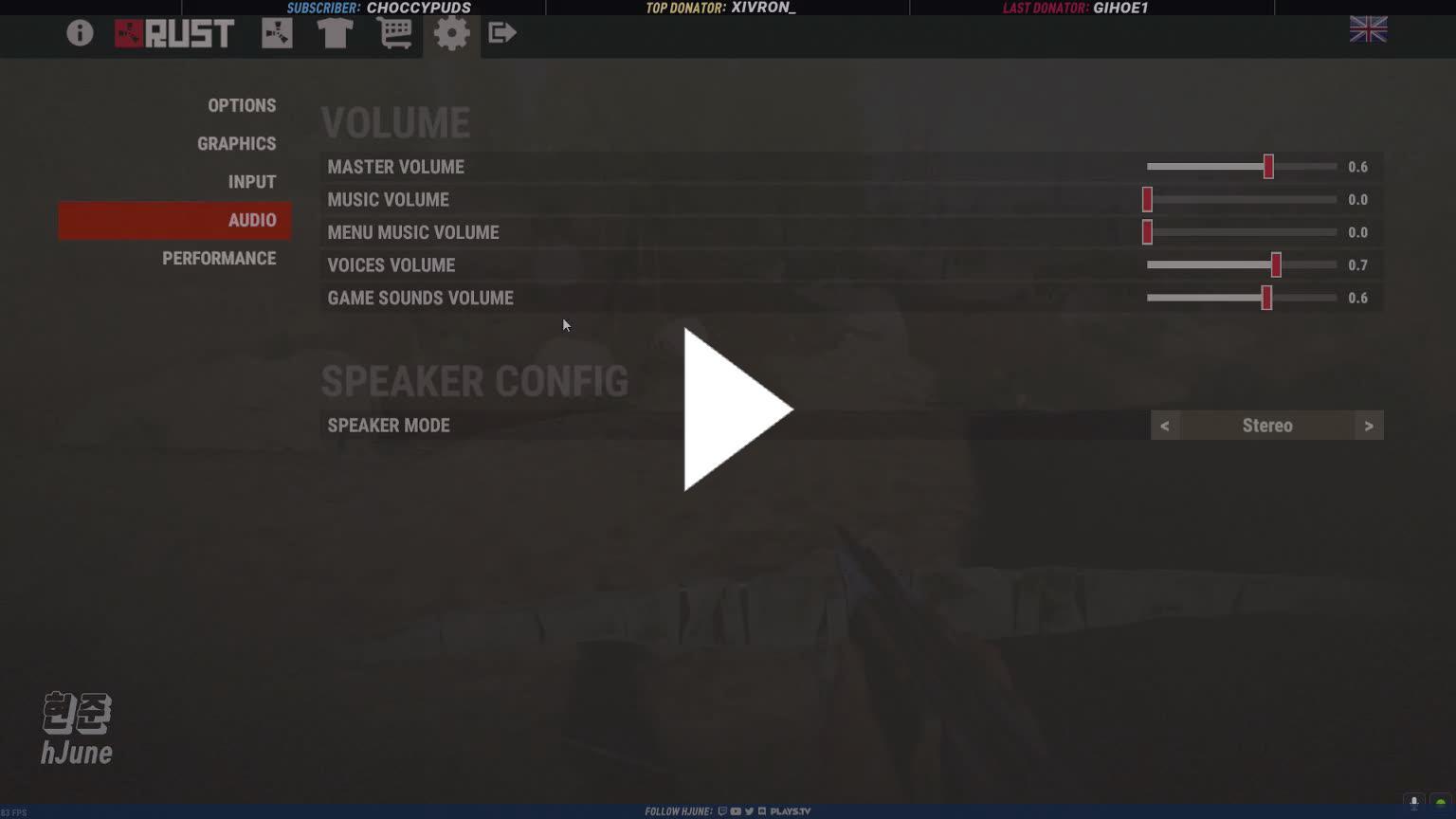 hJune - Hjune settings - Twitch
