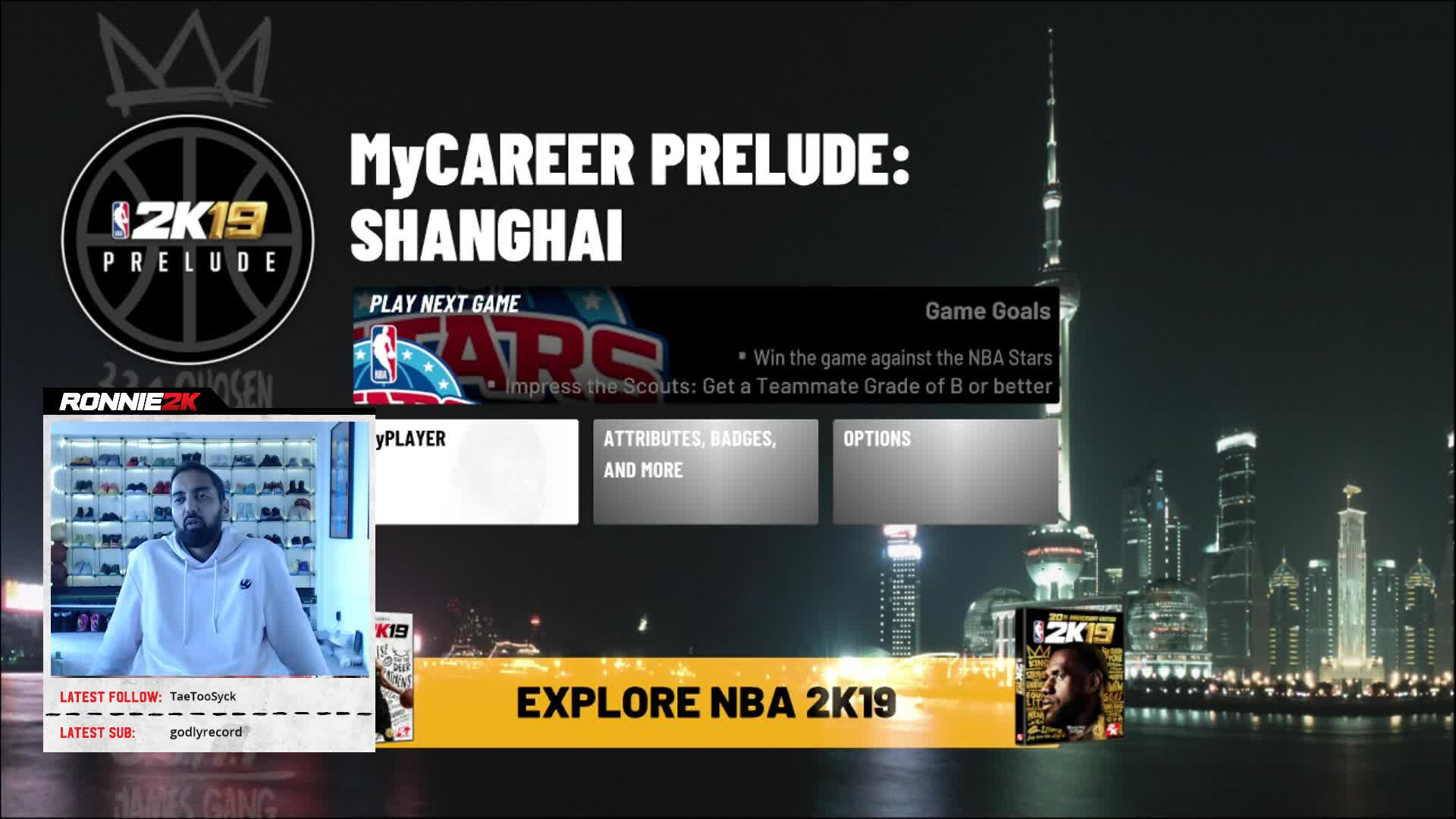 GILBERT ARENAS WILL BE IN NBA 2K19 MYTEAM!!!!! - Twitch