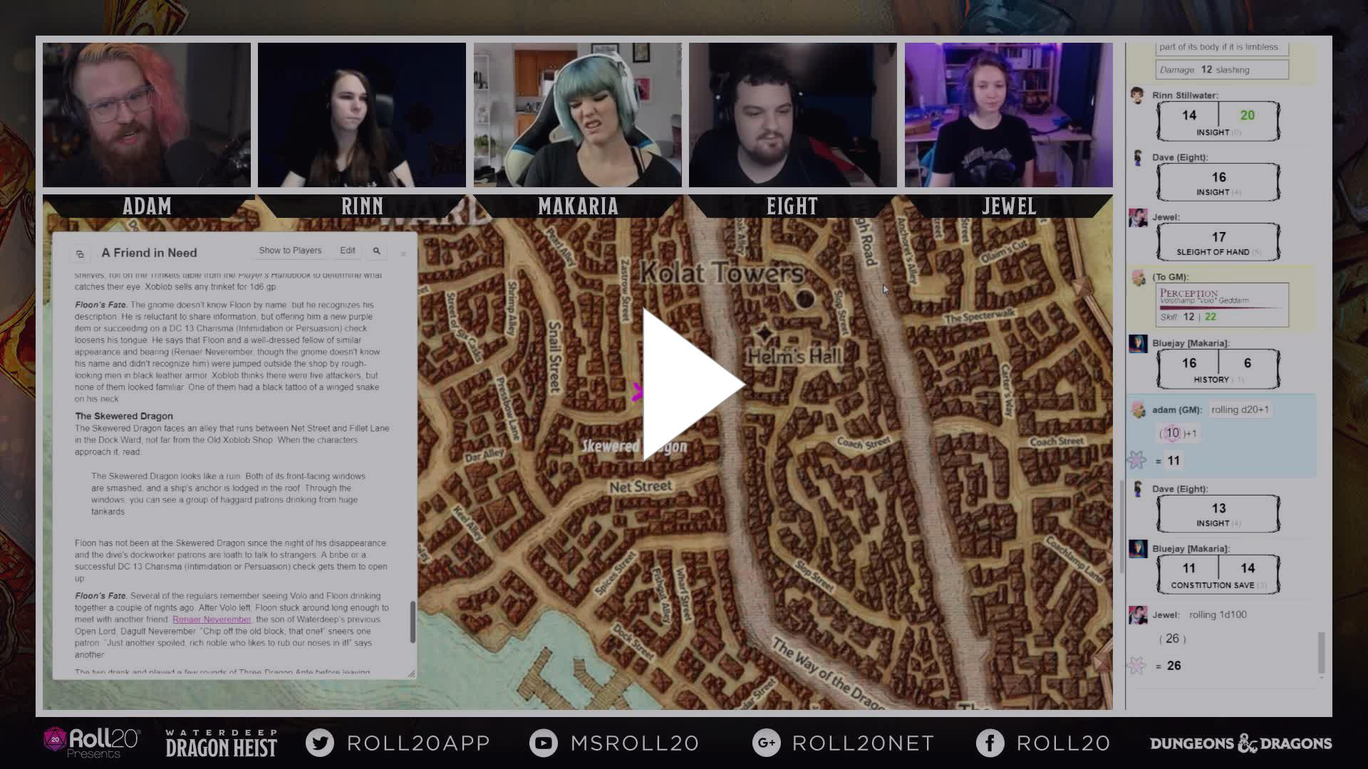 dnd - You want a bag of purple teeth? - Twitch