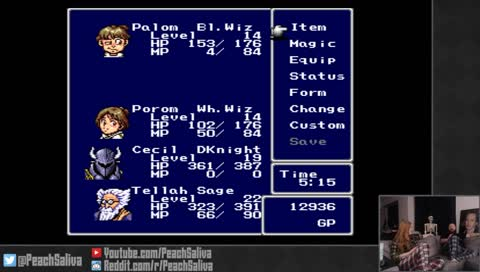 Twitch Clips Of Peachsaliva Playing Final Fantasy Iv Snipaclip
