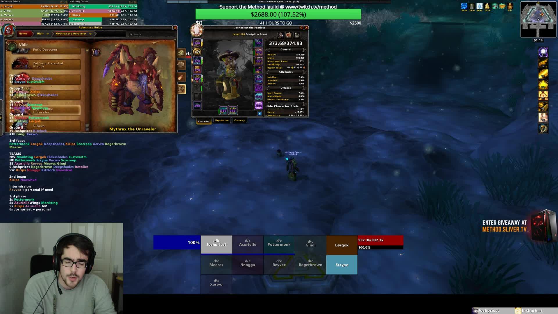 Joshpriest on donating to streamers : LivestreamFail