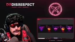 Doc accidentally leaks his green screen setup.