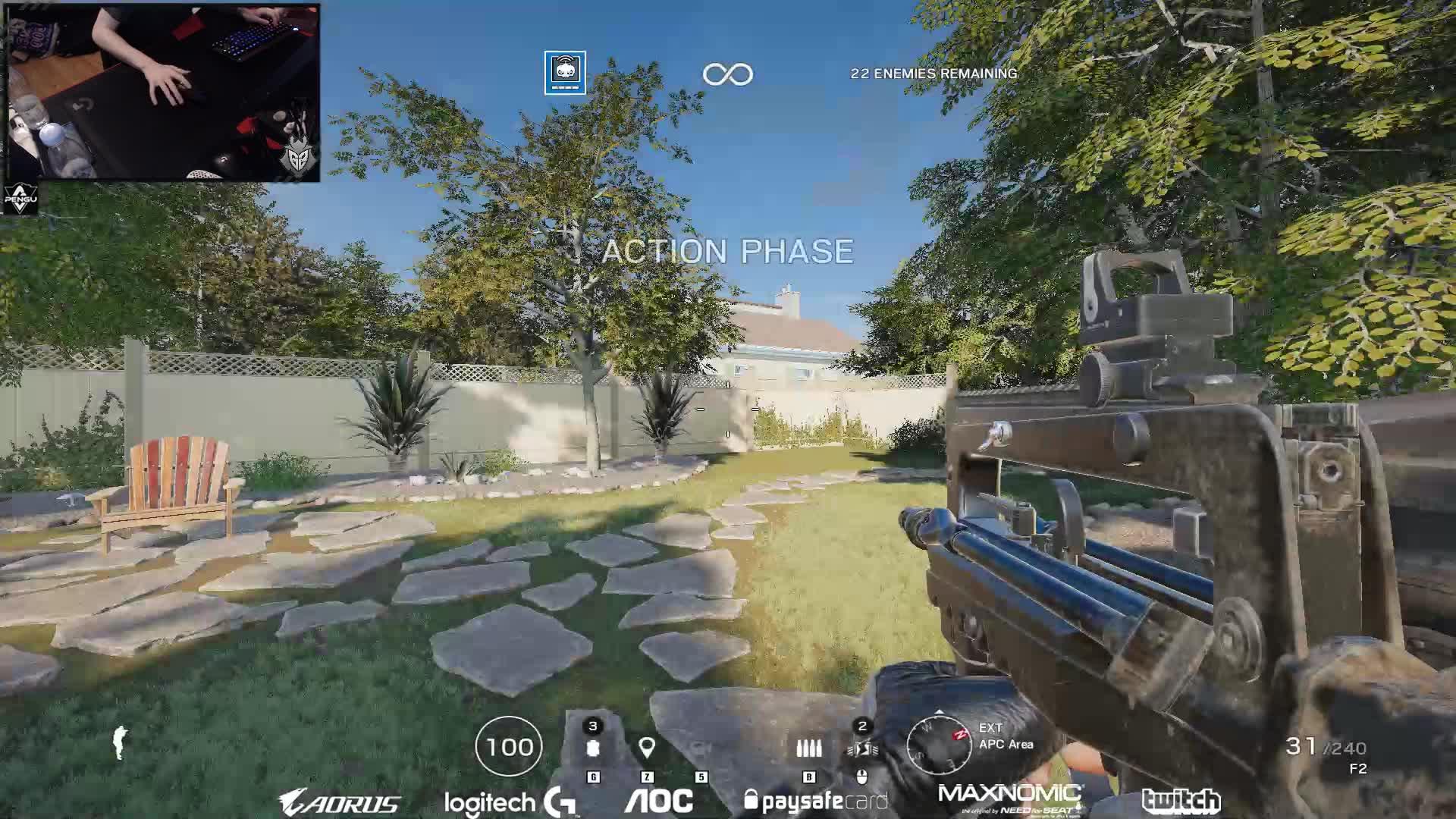 Pengu - pengus recoil control - Twitch