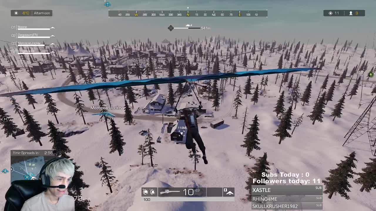 Diegosaurs - Hacker in RoE kills a 27 kill game    - Twitch