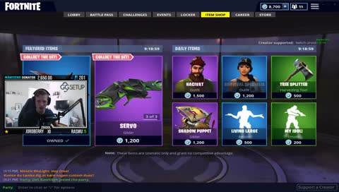 Support a creator (Kode: Twitch-Zrool)