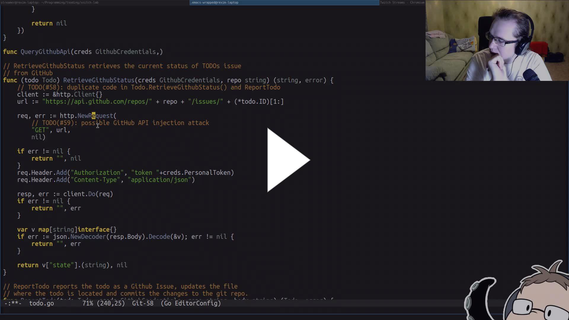 Tsoding - flexible developers - Twitch