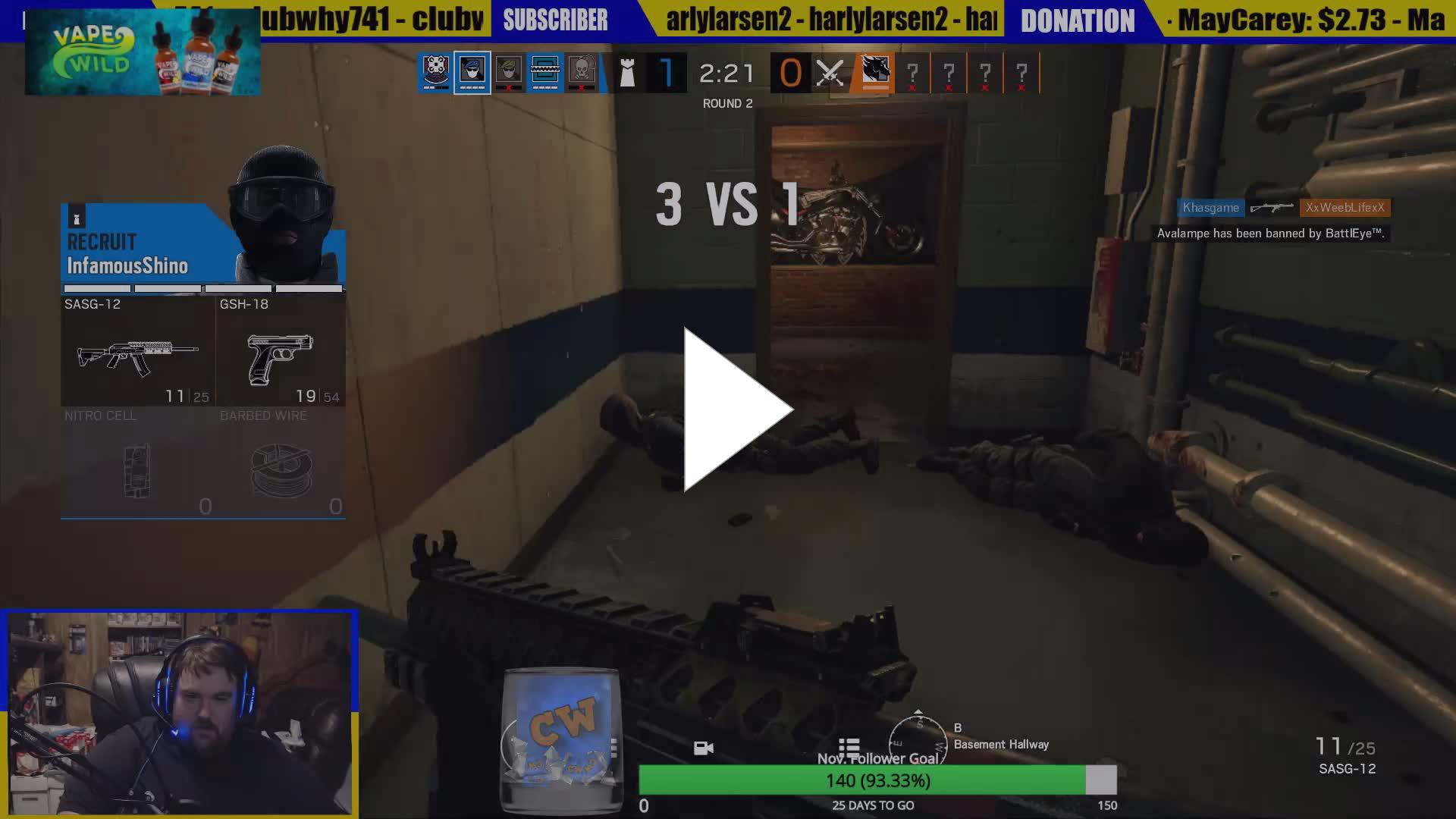 CaptWhoGaming - the godly power of the yeet - Twitch