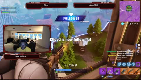 Soulja wins a fortnite game