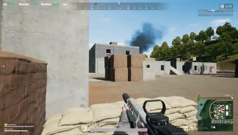 殺人王 GDE Kane M24 這個鐵瞄 這個甩狙 這個爆頭 跟外掛沒兩樣...