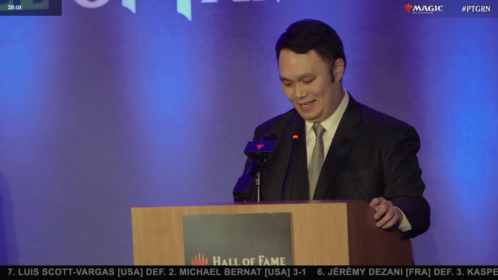 Lee Shi Tian just used part of his HoF induction speech to