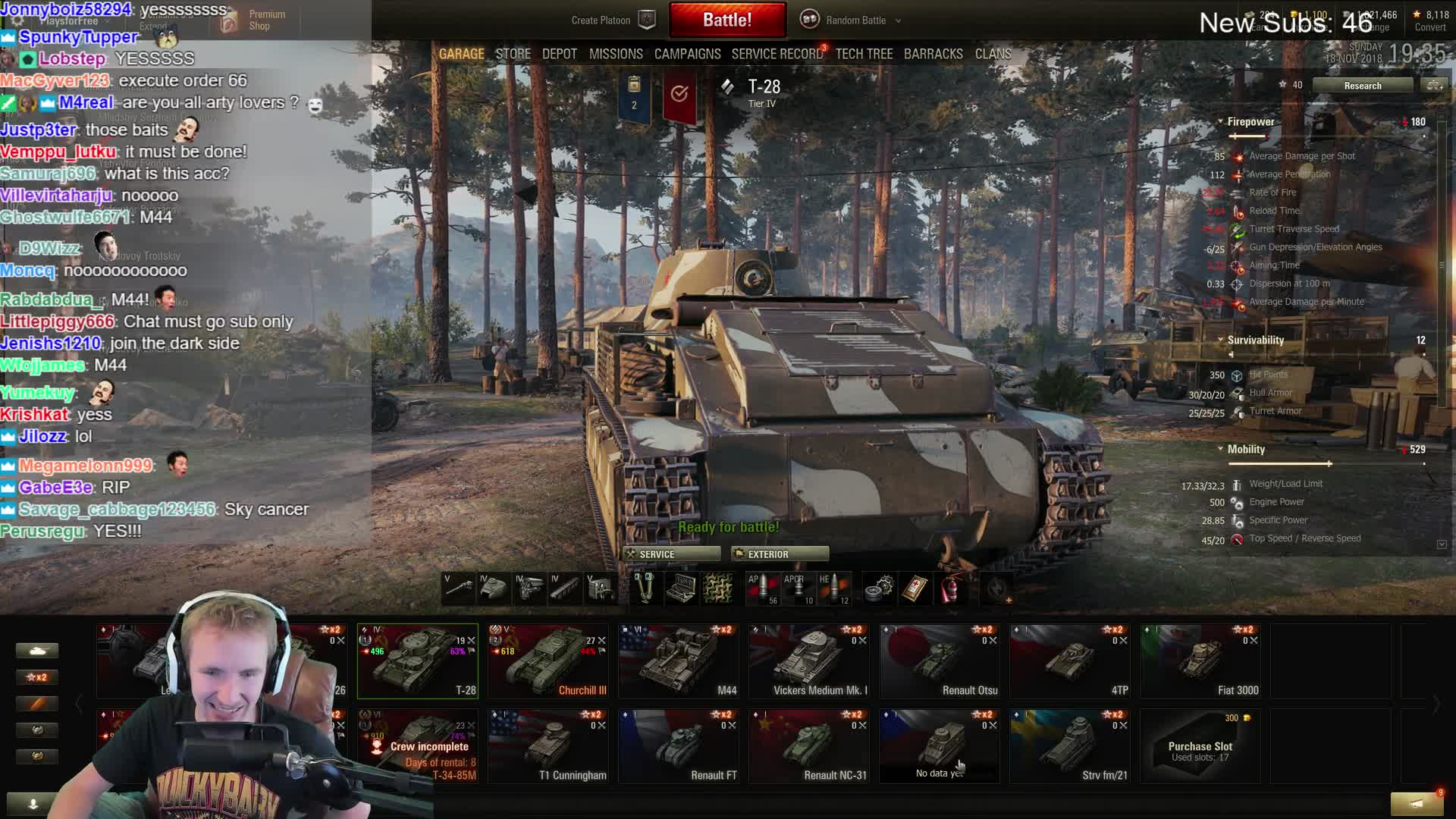 QuickyBaby - How to choose your first free tier 6 tank - Twitch