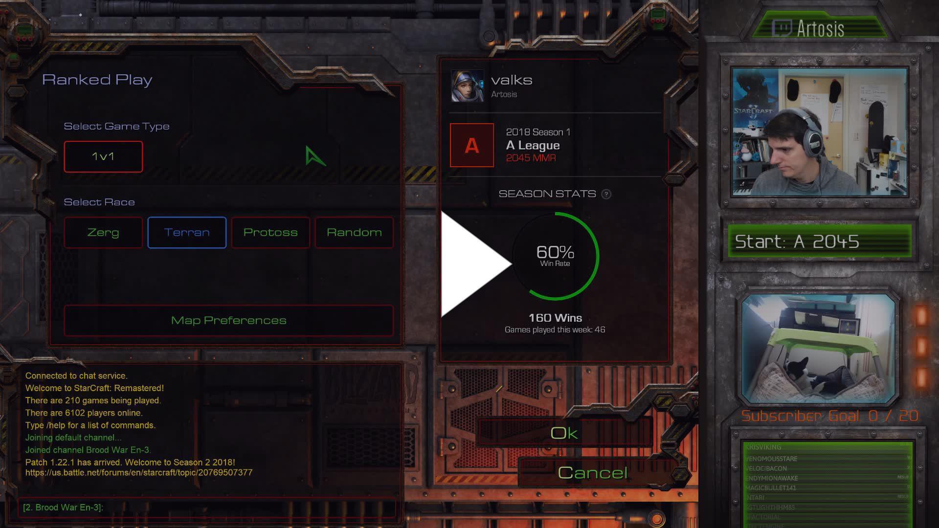 Artosis - Starcraft Mums - Twitch