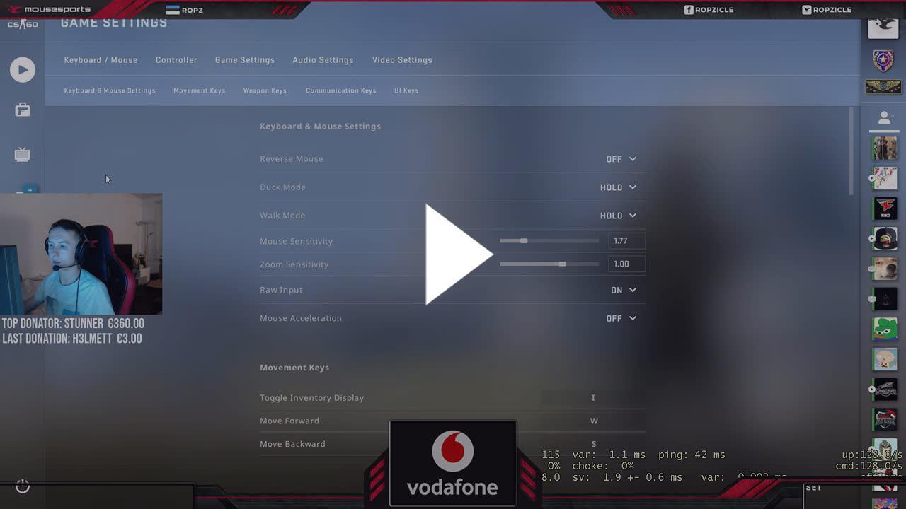 Shroud Csgo Video Settings 2018