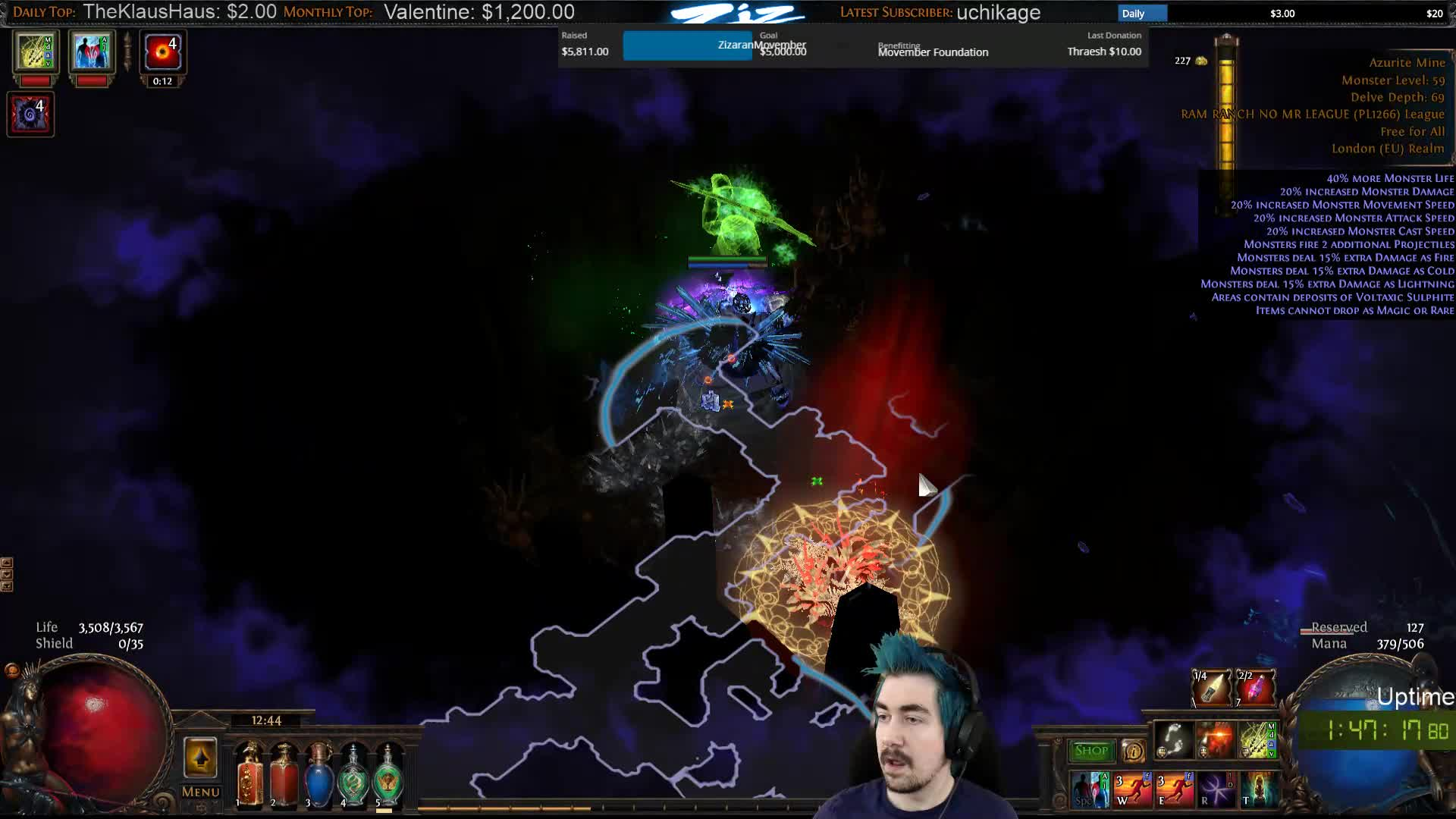 Zizaran dies to logout macro fail, this is why ALT-F4 is