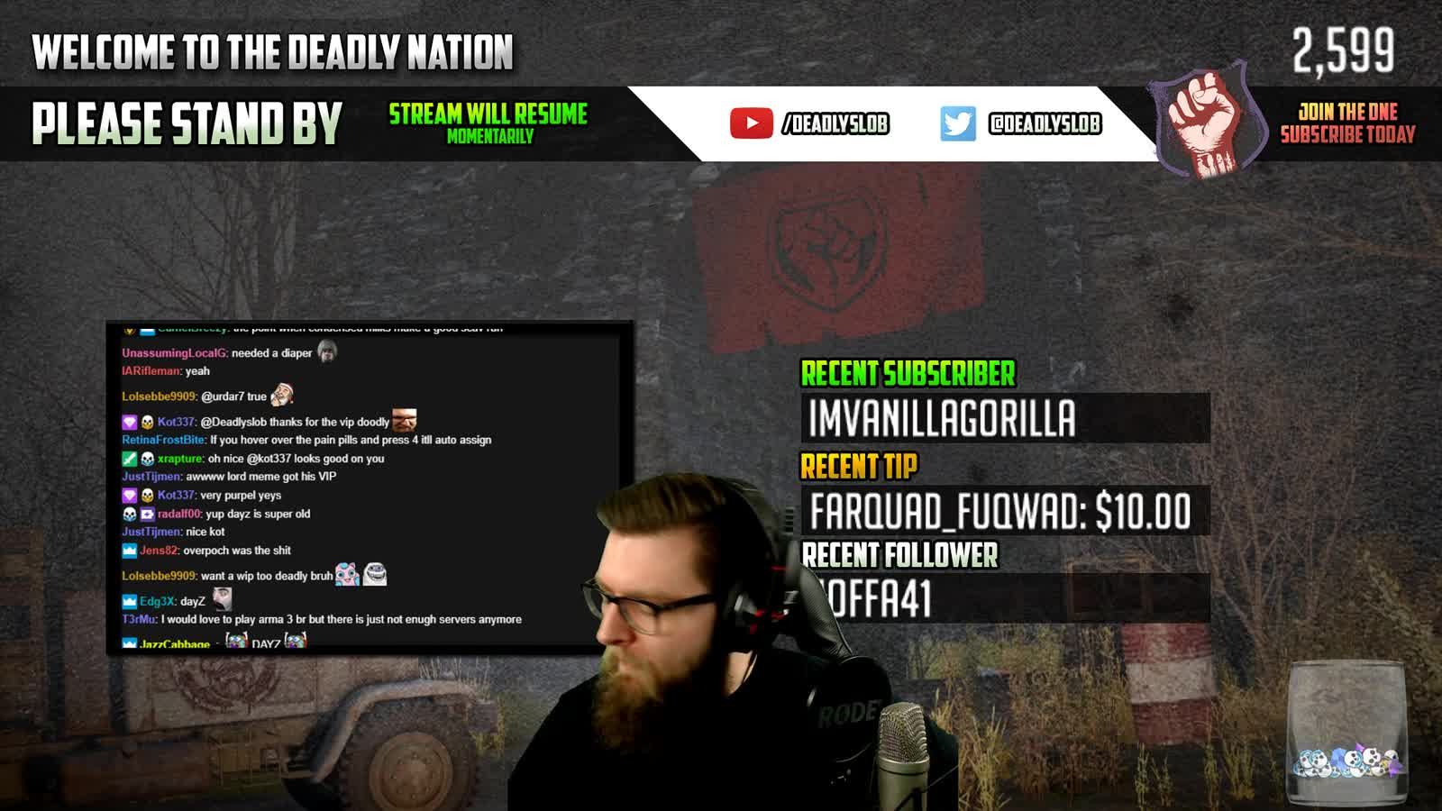 Deadlyslob - script kiddie or legit player? - Twitch
