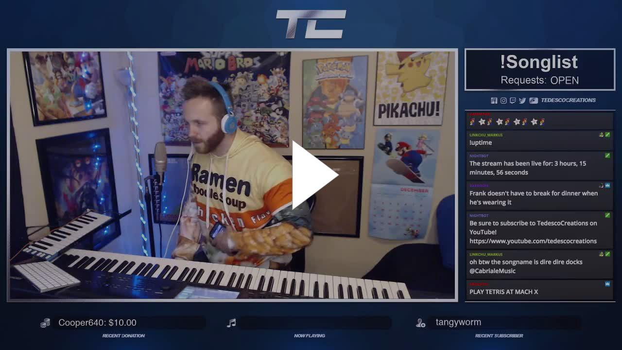 TedescoCreations - tetris at mach x - Twitch