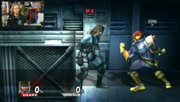Metal Gear Falcon Punch and Kick!