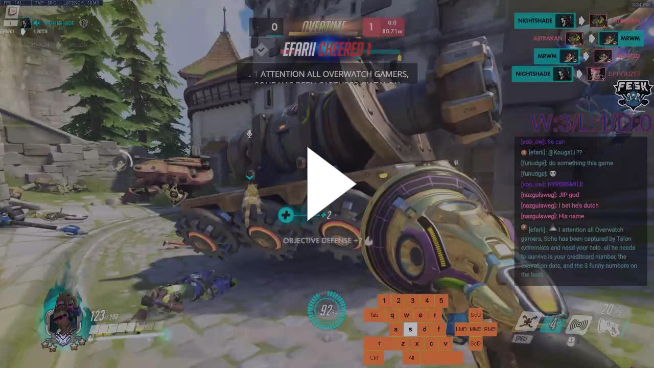 Sohe_ - attention all overwatch gamers - Twitch