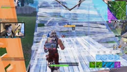 Shroud vs Sweaty boi build battle