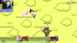 I ENDED THE STREAK!!! =D  Me (Kirby) vs James (KingK) Part 6