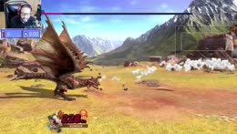 James fails his first Rathalos hunt