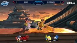Luigi punish game is on point