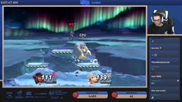 Nairo gets Disrespected by CPU Donkey Kong