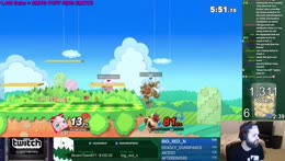 Melee recovery, baby! Hbox goes nuts