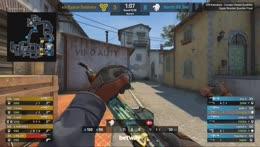 valde - 3 quick AK kills on the bombsite A defense