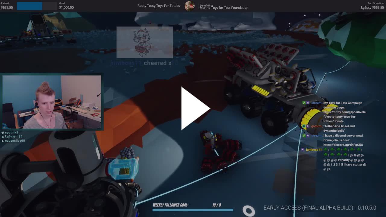PositiveLeft - Robot Lady Stutter! - Twitch