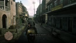 RDR2 Dutch out of NOWHERE!