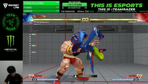 This is what happens when Xian finds out FANG can fly