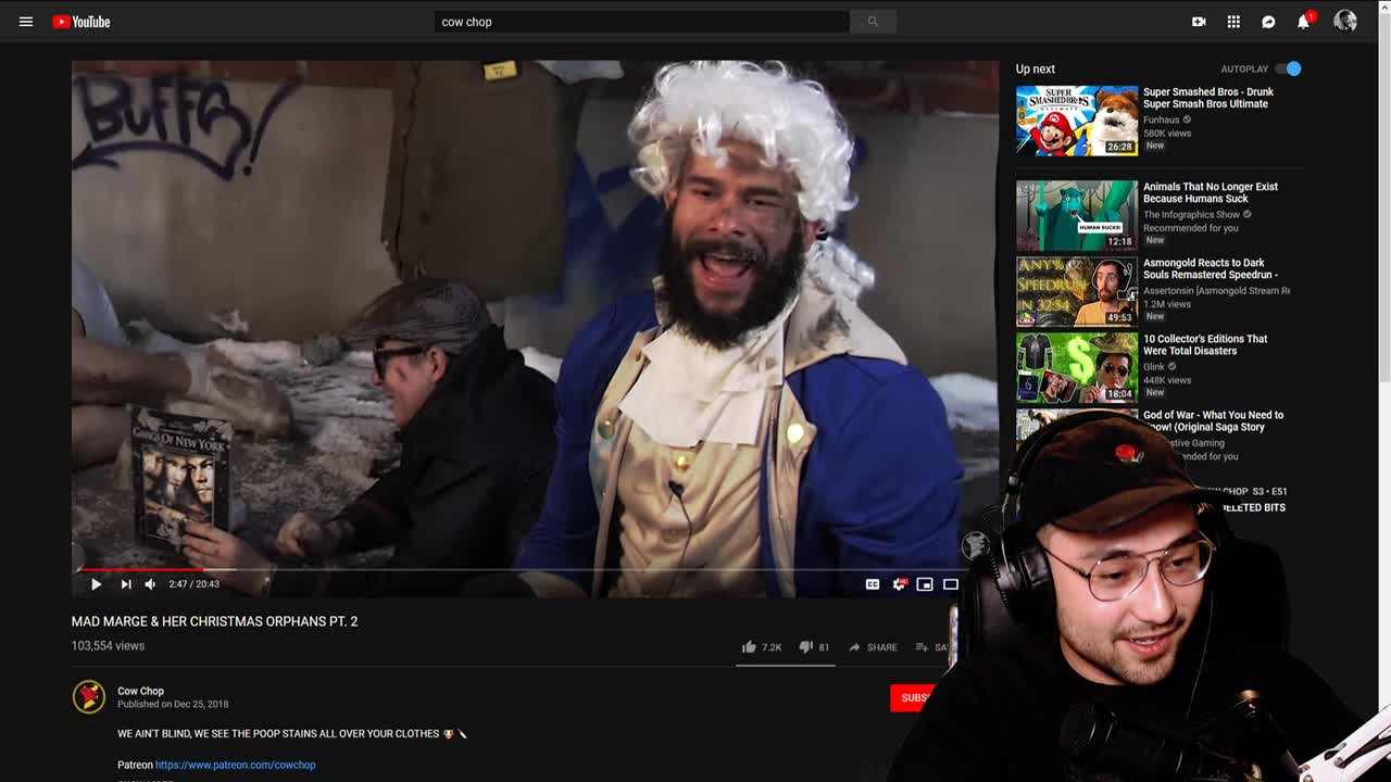 Exposed: Alec wasn't even subbed to Cow Chop : CowChop
