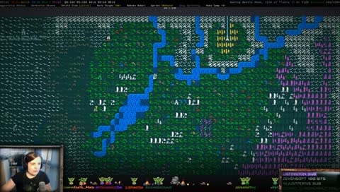 Caves Of Qud World Map.Caves Of Qud Most Viewed All Livestreamclips