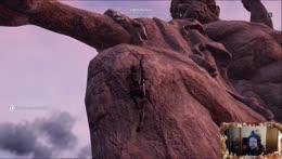 Thorlar wanted to climb Zeus's peepee