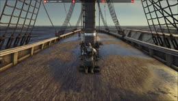My Majestic Schooner takes sail!