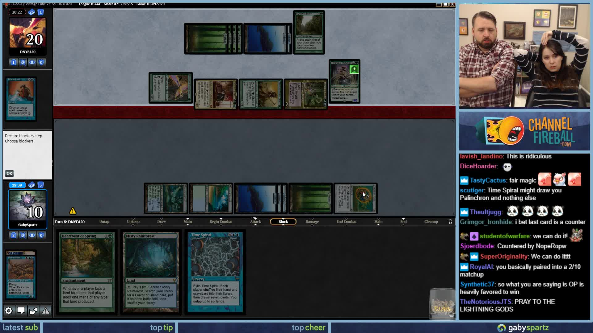 GabySpartz - We Need to Kill Leovold So We Can Draw Cards