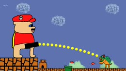 Vinny Takes a Tinkle On Toadstool