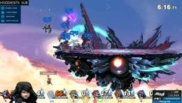 ZeRo gets murdered by 7 Ganondorfs